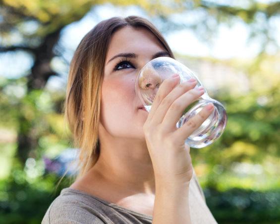 Ljummet vatten är bättre för hälsan än kallt